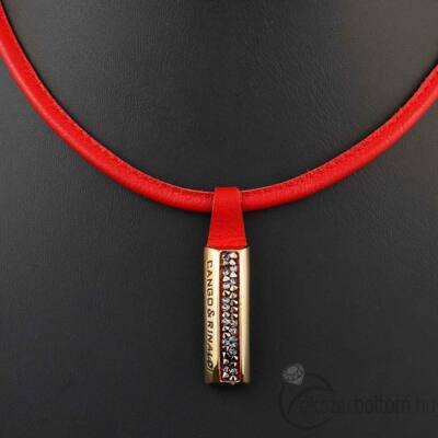 Cango & Rinaldi Shine nyaklánc 1319 piros