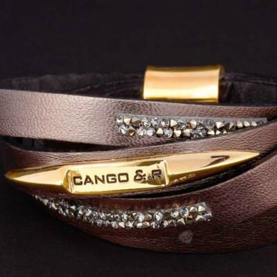 Cango & Rinaldi Simple karkötő 1286 antracit