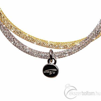 SD2K-RO Stardust by Cango & Rinaldi ezüst-arany színű karkötő részlete