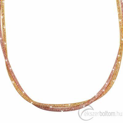 SD2NY-AR-RO Stardust by Cango & Rinaldi arany-rozé színű nyaklánc részlete
