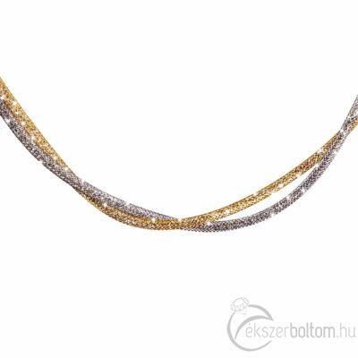 SD2NY-RO Stardust by Cango & Rinaldi ezüst-arany színű nyaklánc részlete