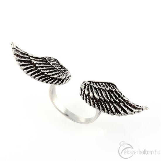 """Angyali Szabadság"" (""Angelic Freedom"") ezüst gyűrű"