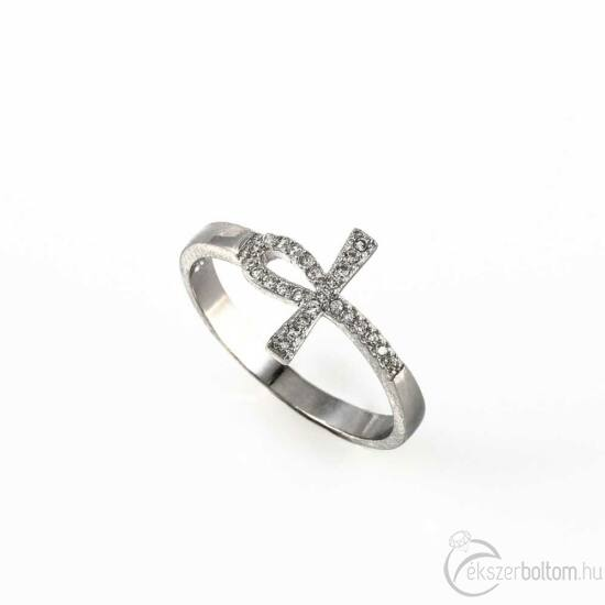 """""""Ankh"""" (az Élet kulcsa) ezüst gyűrű"""
