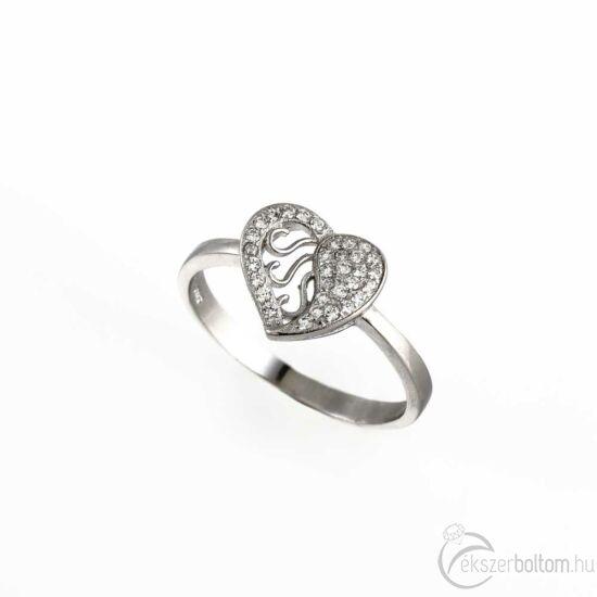 Áttört ezüst gyűrű