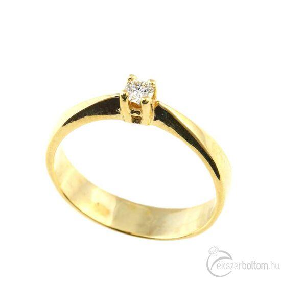 Brillköves aranygyűrű 239