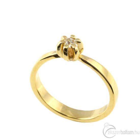 Brillköves aranygyűrű 249
