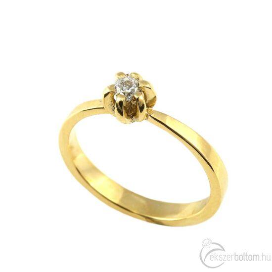 Brillköves aranygyűrű 251