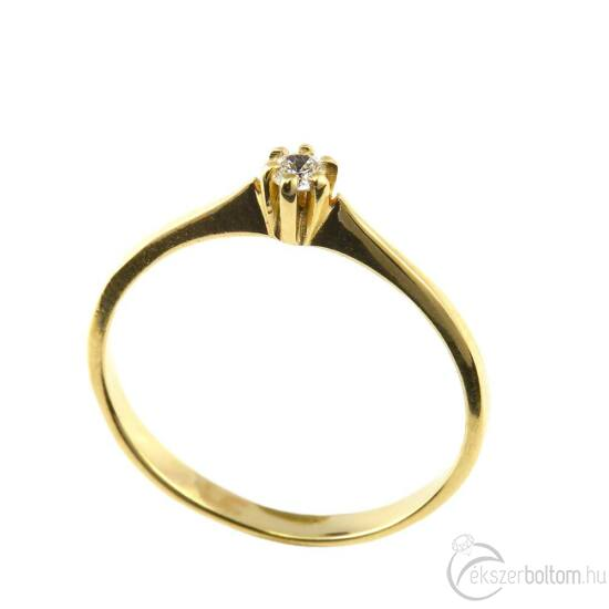 Brillköves aranygyűrű 260