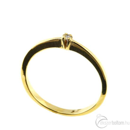 Brillköves aranygyűrű 264