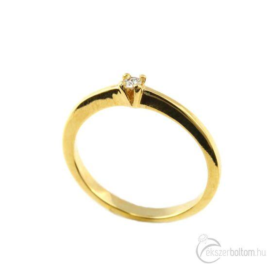 Brillköves aranygyűrű 267