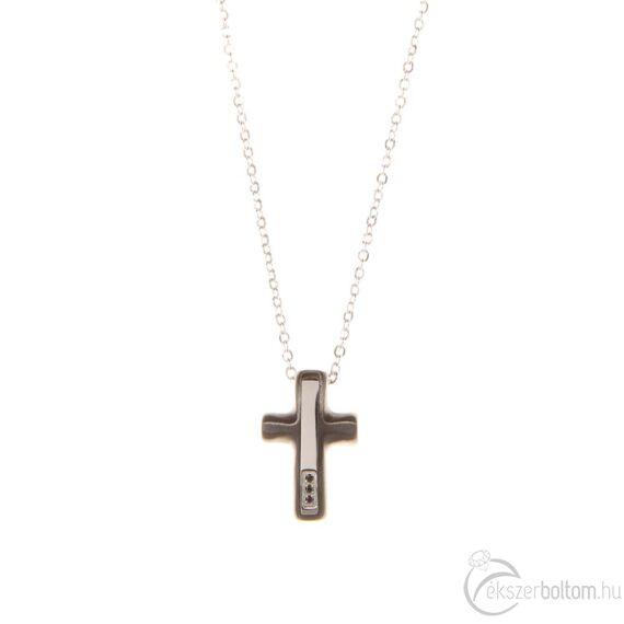 Bent Satin Cross