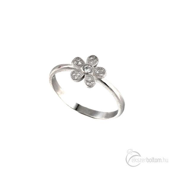 """""""Kisvirág"""" (""""Lil'Flower"""") ezüst gyűrű"""