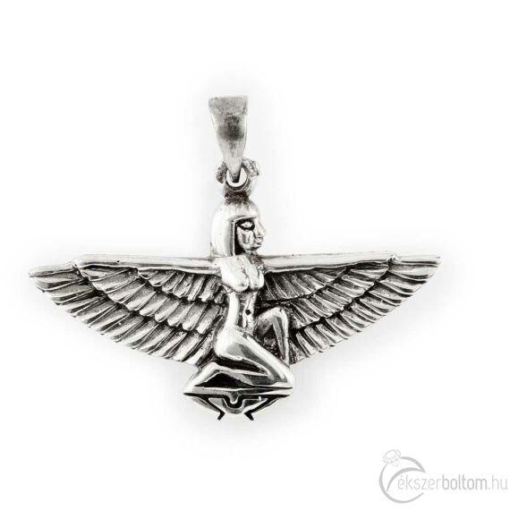 """""""Ptolemaida Ízisz"""" antikolt ezüst medál"""