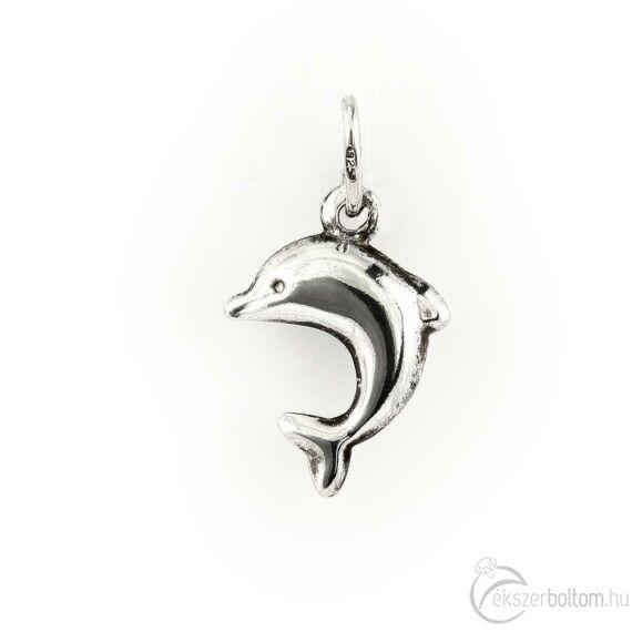 Közepes ugró delfin ezüst medál
