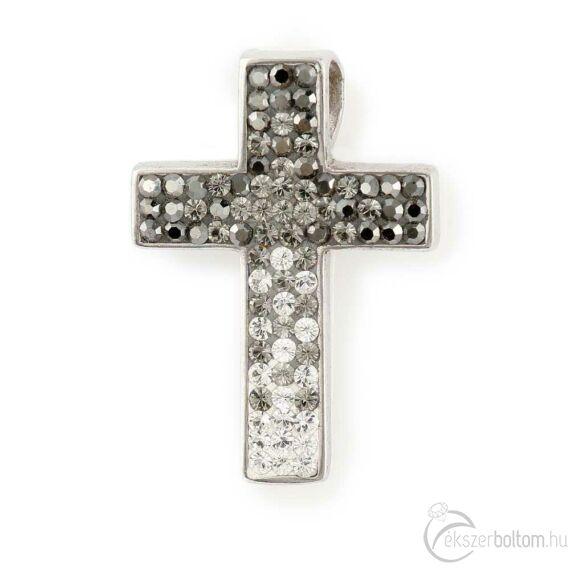 """""""Kristálykereszt"""" ezüst medál"""