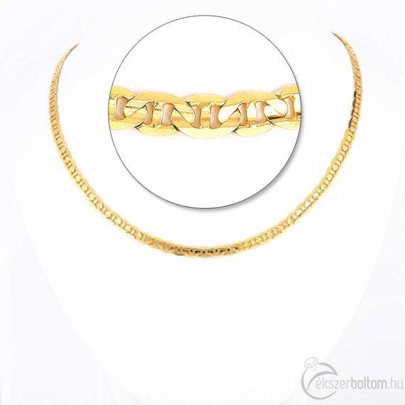 Arany nyaklánc, nyakék 340
