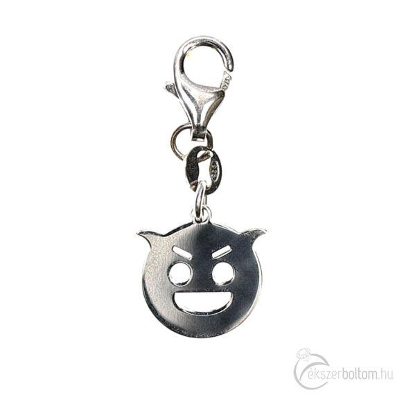 """Ördögfióka Emoji"" ezüst medál"