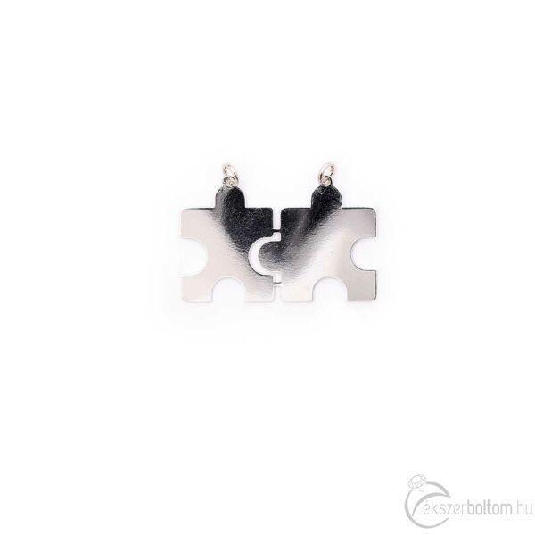 Törhető puzzle pár ezüst medál