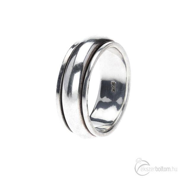 Terang antikolt ezüst forgós gyűrű