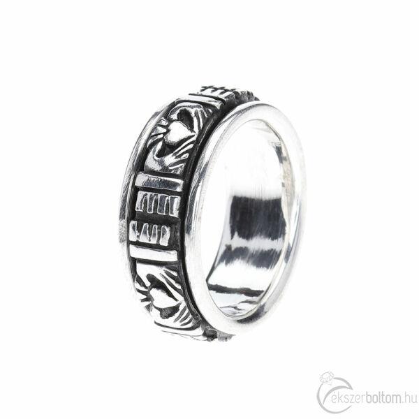 Peduli 925‰-es ezüst gyűrű, 59-es méret