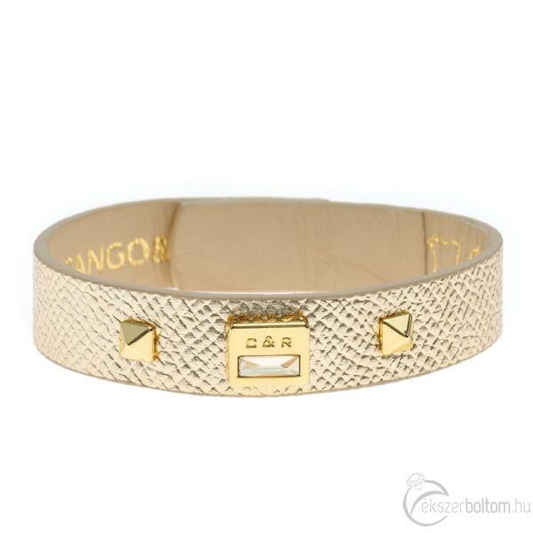 Cango & Rinaldi Magic arany színű karkötő arany színű díszítéssel
