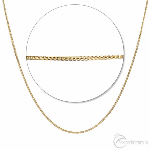 Sárga arany sűrű, erős barbara lánc