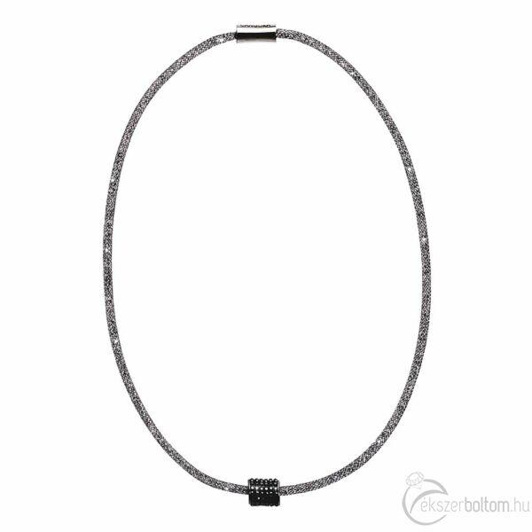 SD12NY-BK Stardust by Cango & Rinaldi fekete színű, henger medálos nyaklánc
