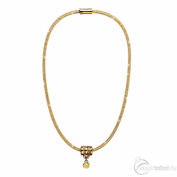 SD22NY-AR Stardust by Cango & Rinaldi arany színű, hordó medálos nyaklánc