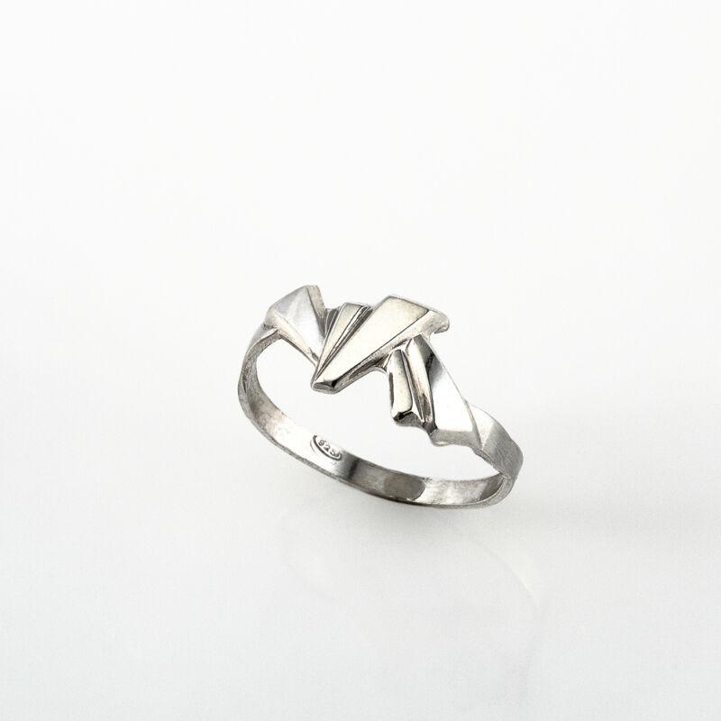 """""""Accent"""" ezüst gyűrű"""