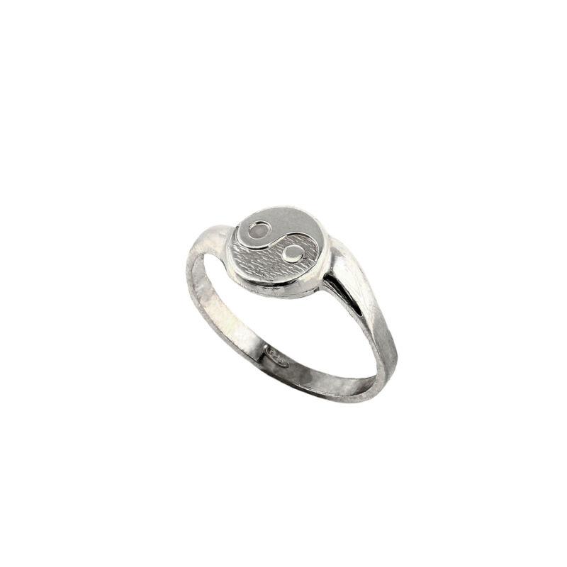 Yin-Yang ezüst gyűrű