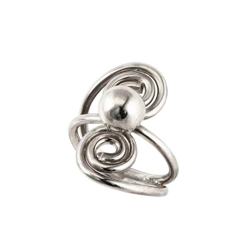 """""""Spinball"""" ezüst gyűrű"""