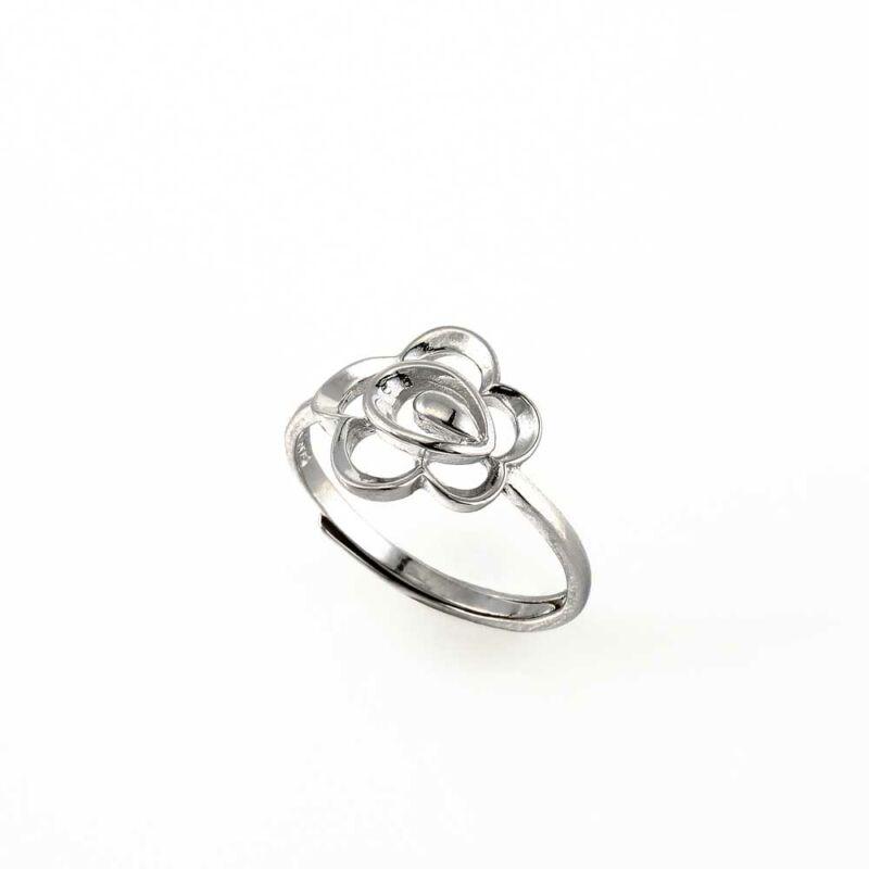 """""""Ezüstvirág"""" (""""Silver Flower"""") ezüst gyűrű"""