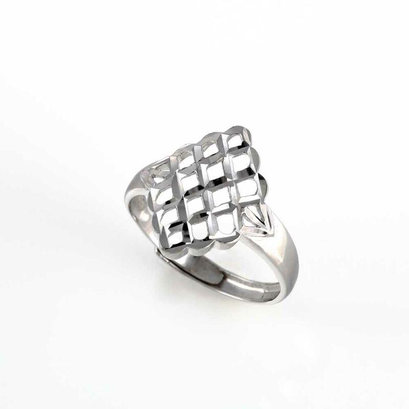 """""""Lattice Magic"""" ezüst gyűrű"""