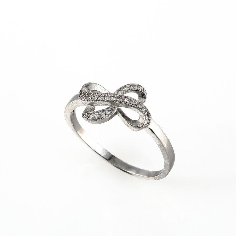"""""""Masni"""" (""""Little Tie"""") ezüst gyűrű"""