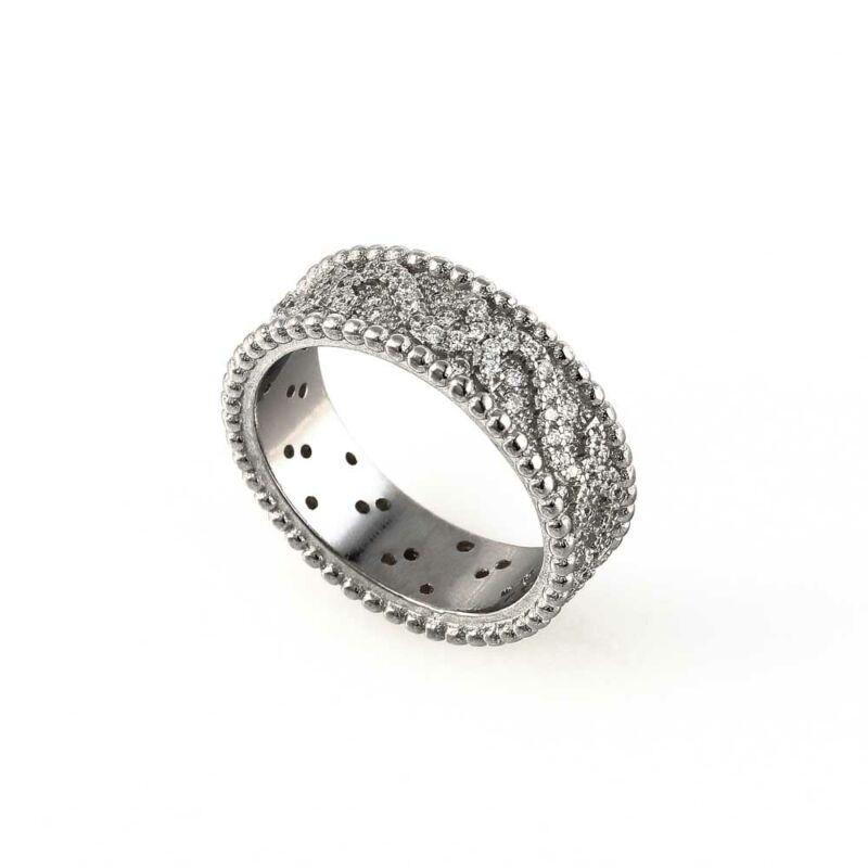 """""""Crystal Spell"""" (""""Kristálybűvölet"""") ezüst gyűrű"""