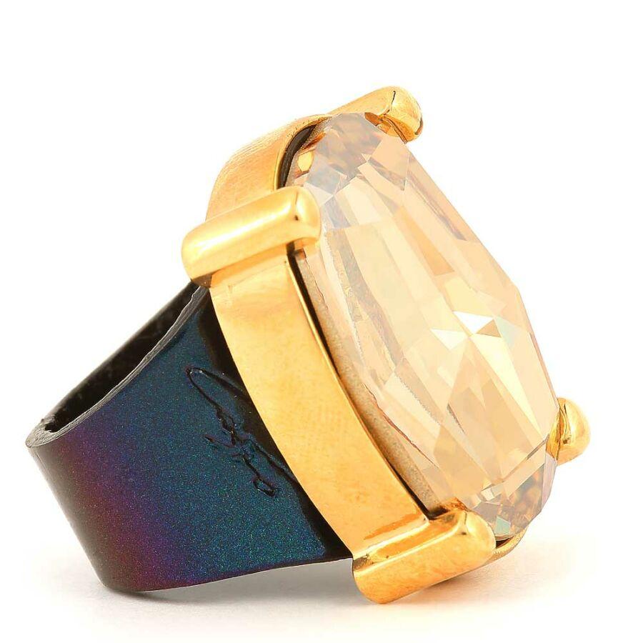 Cango & Rinaldi Dukai Regina gyűrű 1473 kék