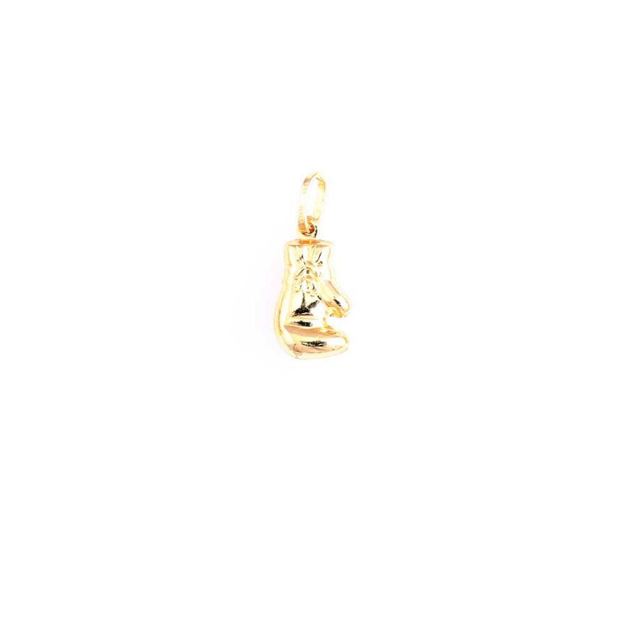 Bokszkesztyű 14 karátos arany medál