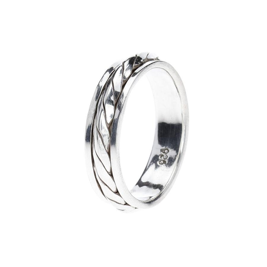 Subak antikolt ezüst forgós gyűrű