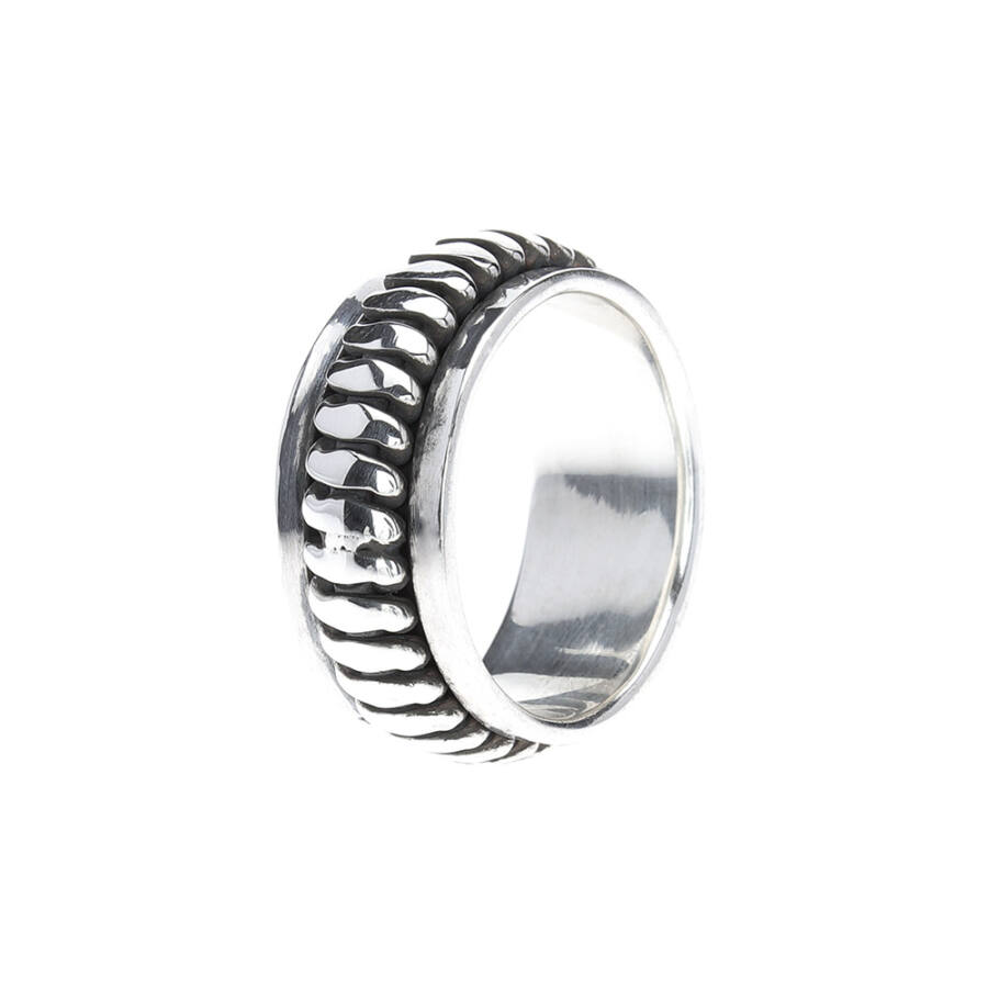 Bergaris 925‰ ezüst forgós gyűrű