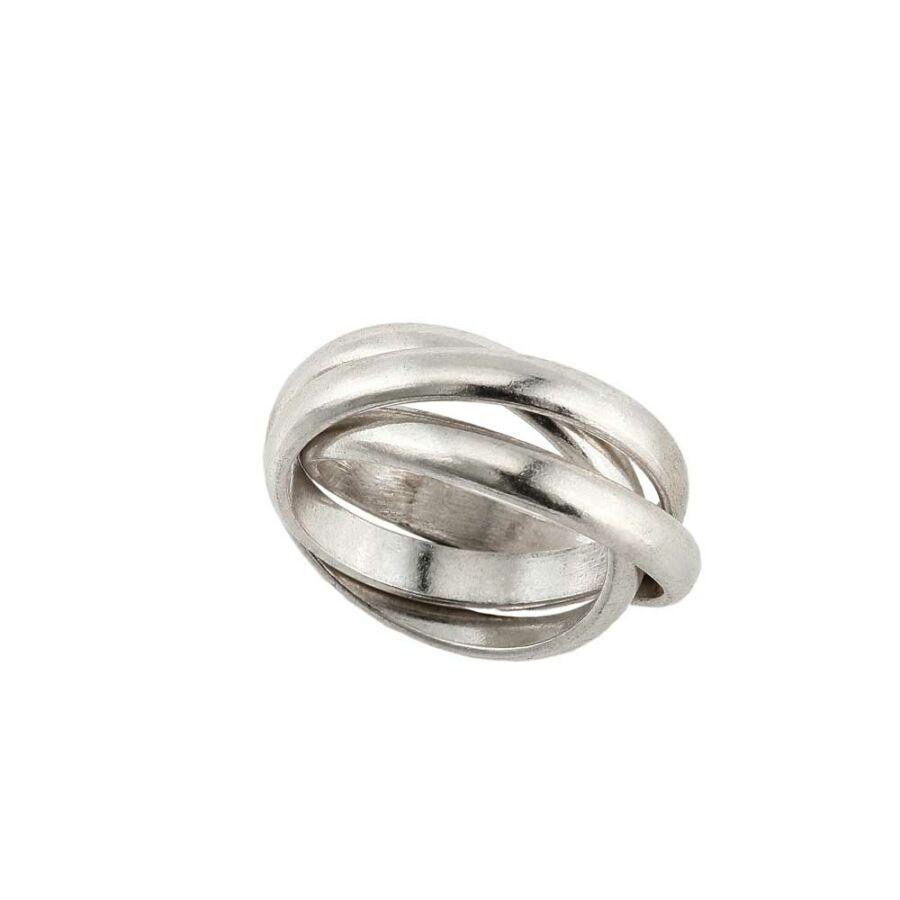"""Trinità' ezüst gyűrű"