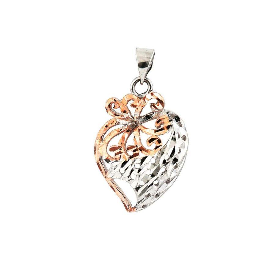"""""""Romantic Heart"""" ezüst medál"""