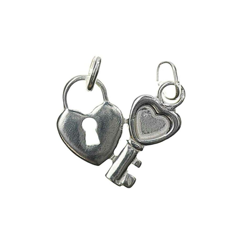 """""""Szívem Kulcsa"""" törhető ezüst medál"""