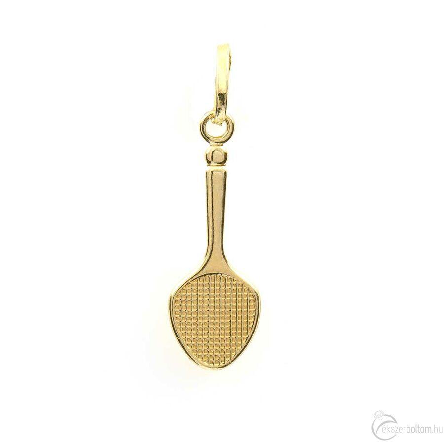 Arany tollasütő medál