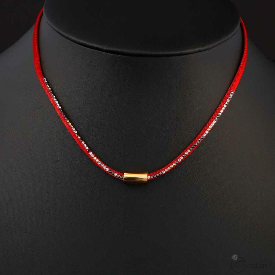 Cango & Rinaldi Emotion nyaklánc 1293 bordói vörös