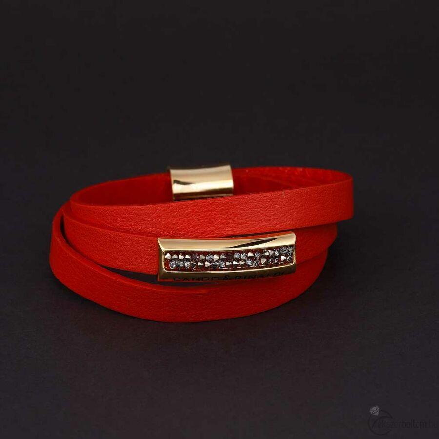 Cango & Rinaldi Shine karkötő 1320 piros