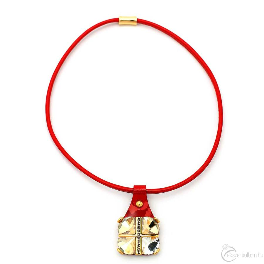Cango & Rinaldi Queen nyaklánc 1339 piros