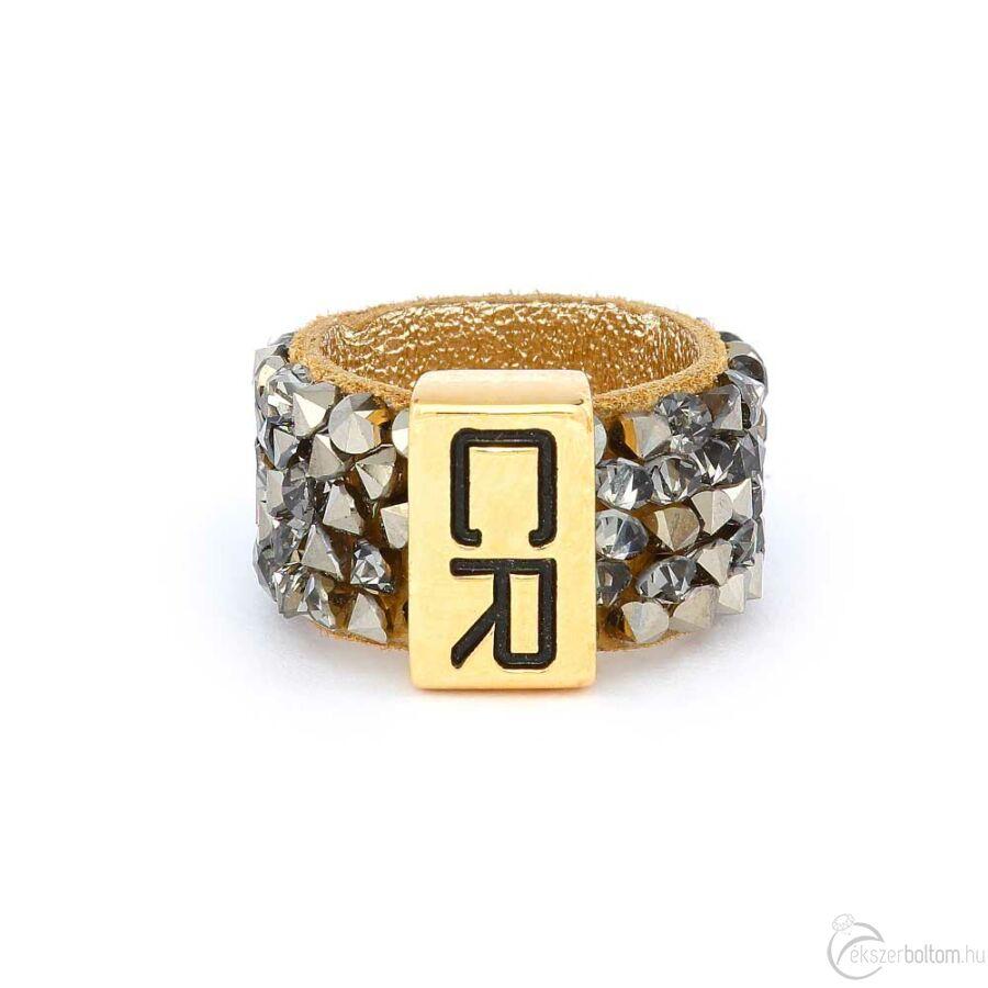 Cango & Rinaldi Simple gyűrű 1255 aranyszínű