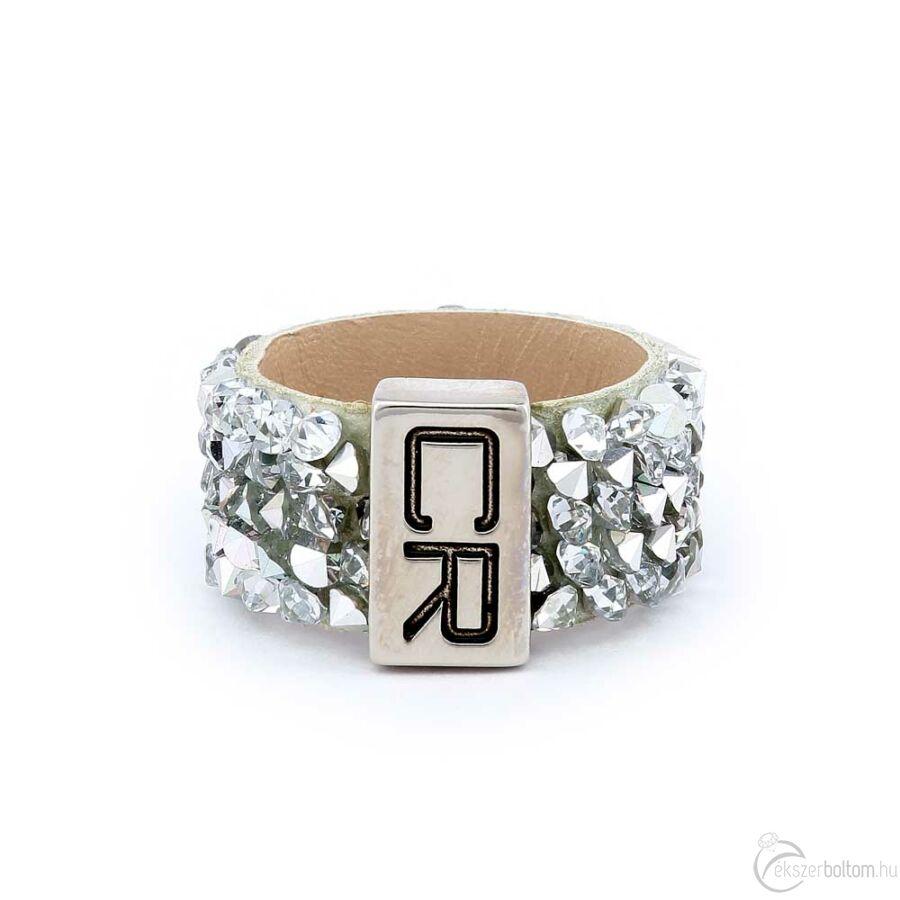 Cango & Rinaldi Simple gyűrű 1255 fehér