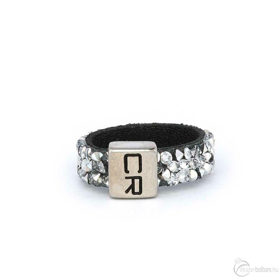Cango & Rinaldi Simple gyűrű 1254 fekete