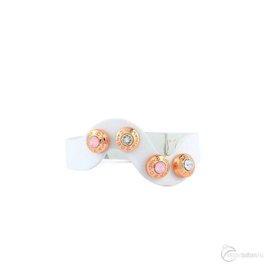 Cango & Rinaldi Simple karkötő 4444 fehér